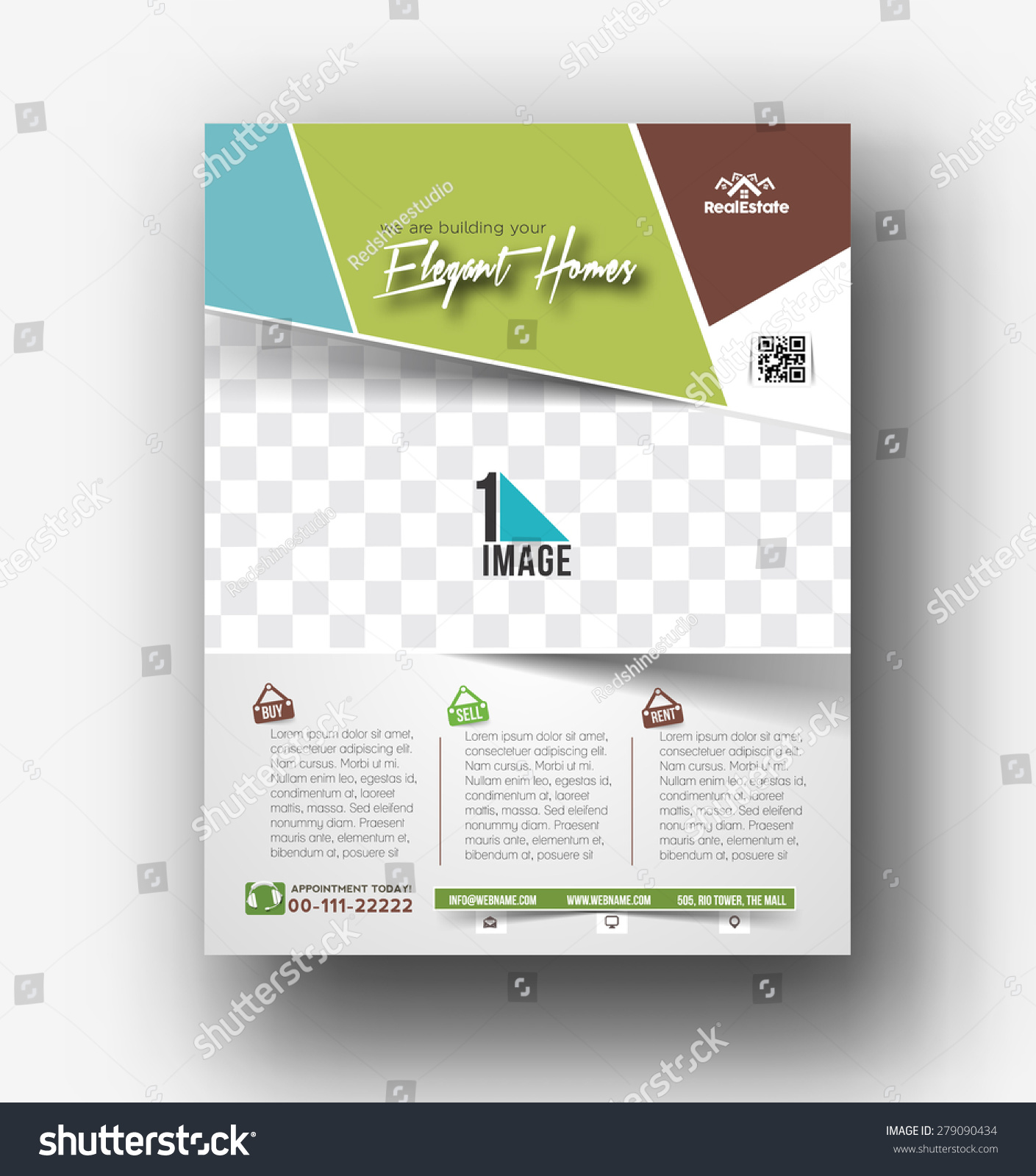 real estate agent flyer template