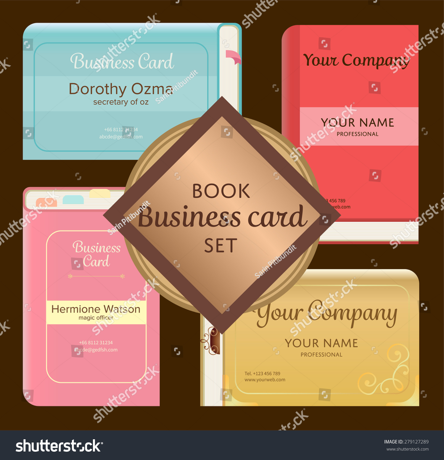 Luxury pics of pop up business cards business cards and resume cute elegant vintage pop book like magicingreecefo Gallery