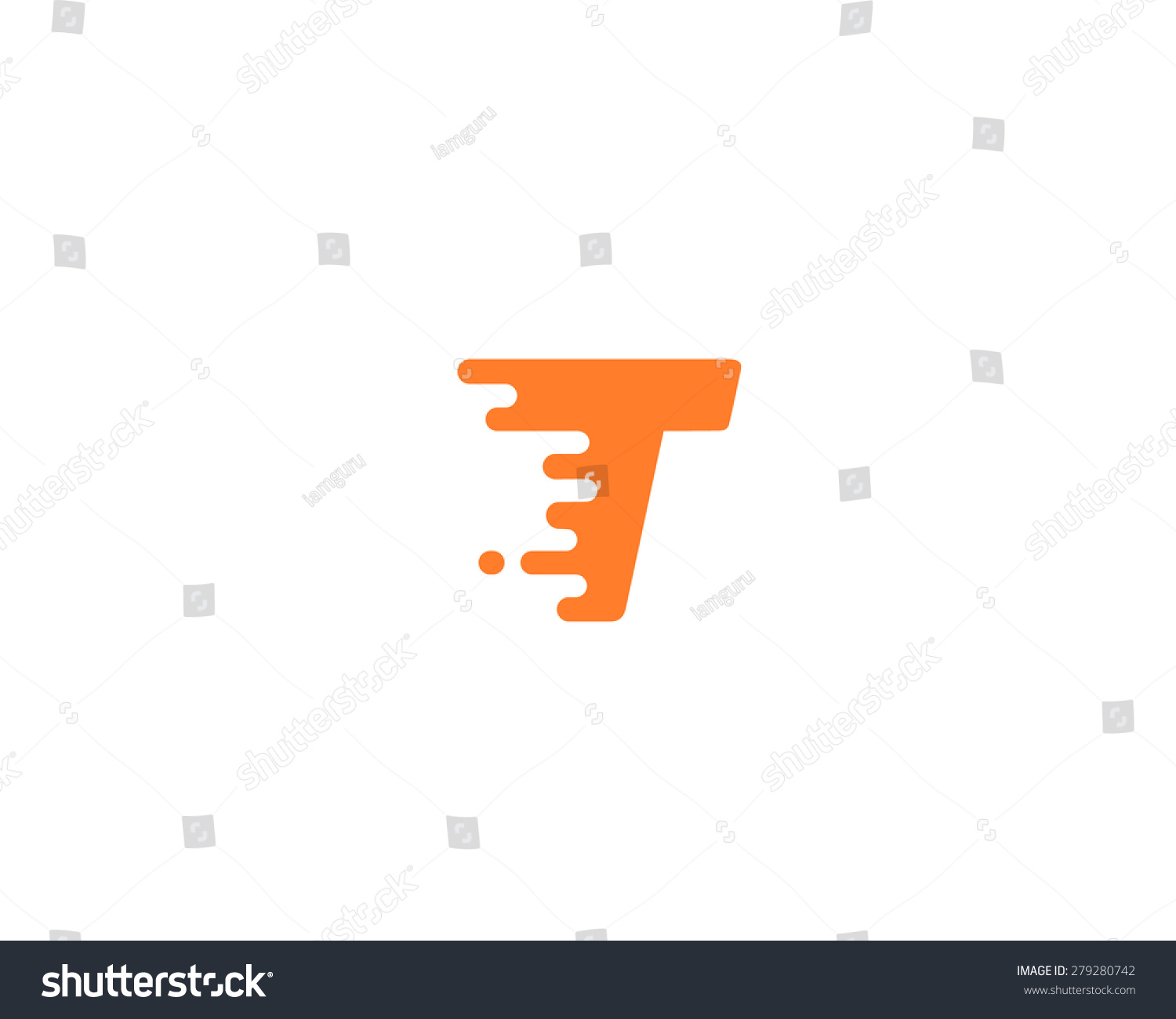 pic  stock photo abstract letter t logo design template dynamic unusual font universal fast speed fire moving