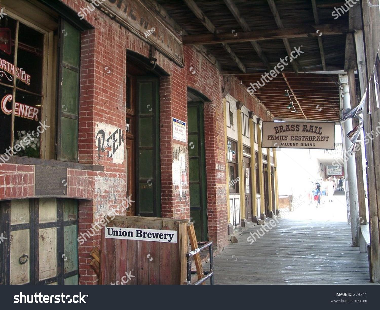 Old West Saloon Virginia City Reno Stock Photo Edit Now 279341