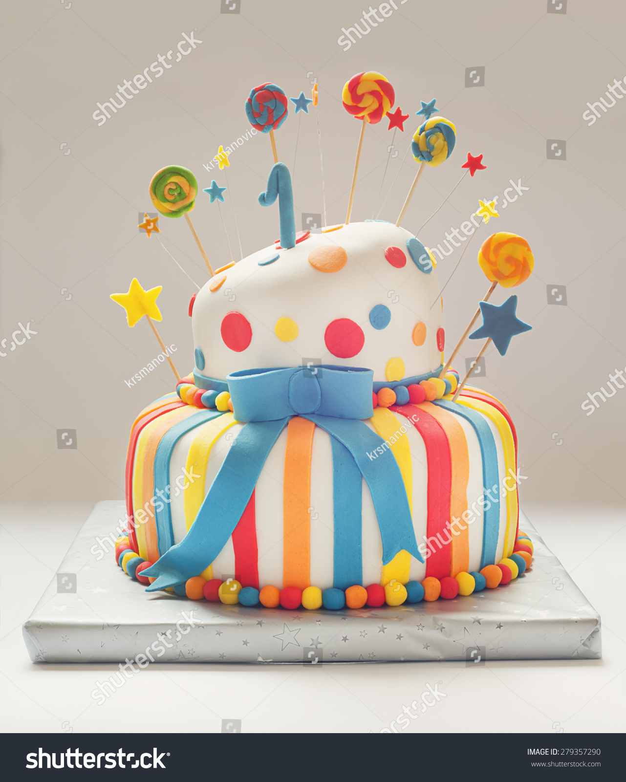 Phenomenal Funny Birthday Cake Number One On Stock Photo Edit Now 279357290 Funny Birthday Cards Online Drosicarndamsfinfo