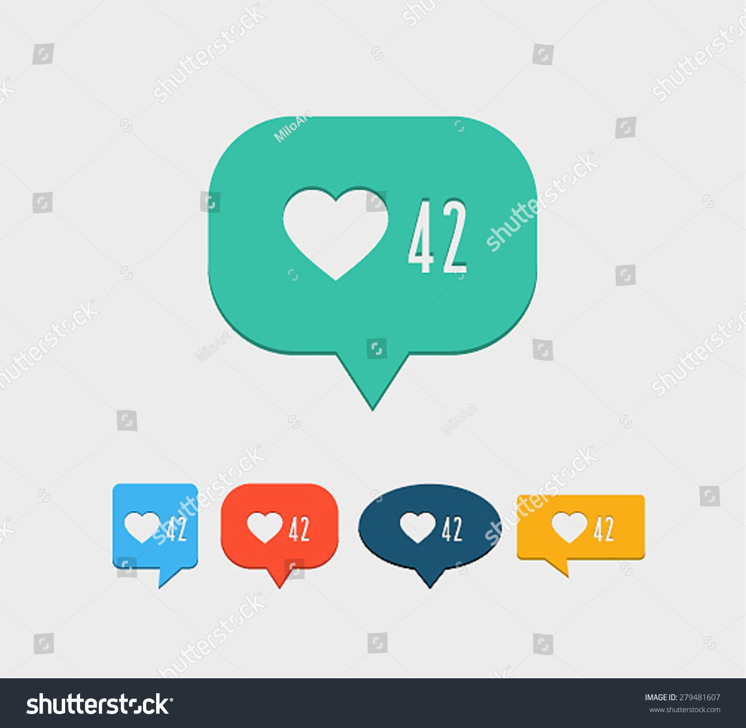 Facebook Notification Icon Vector | www.imgkid.com - The ...