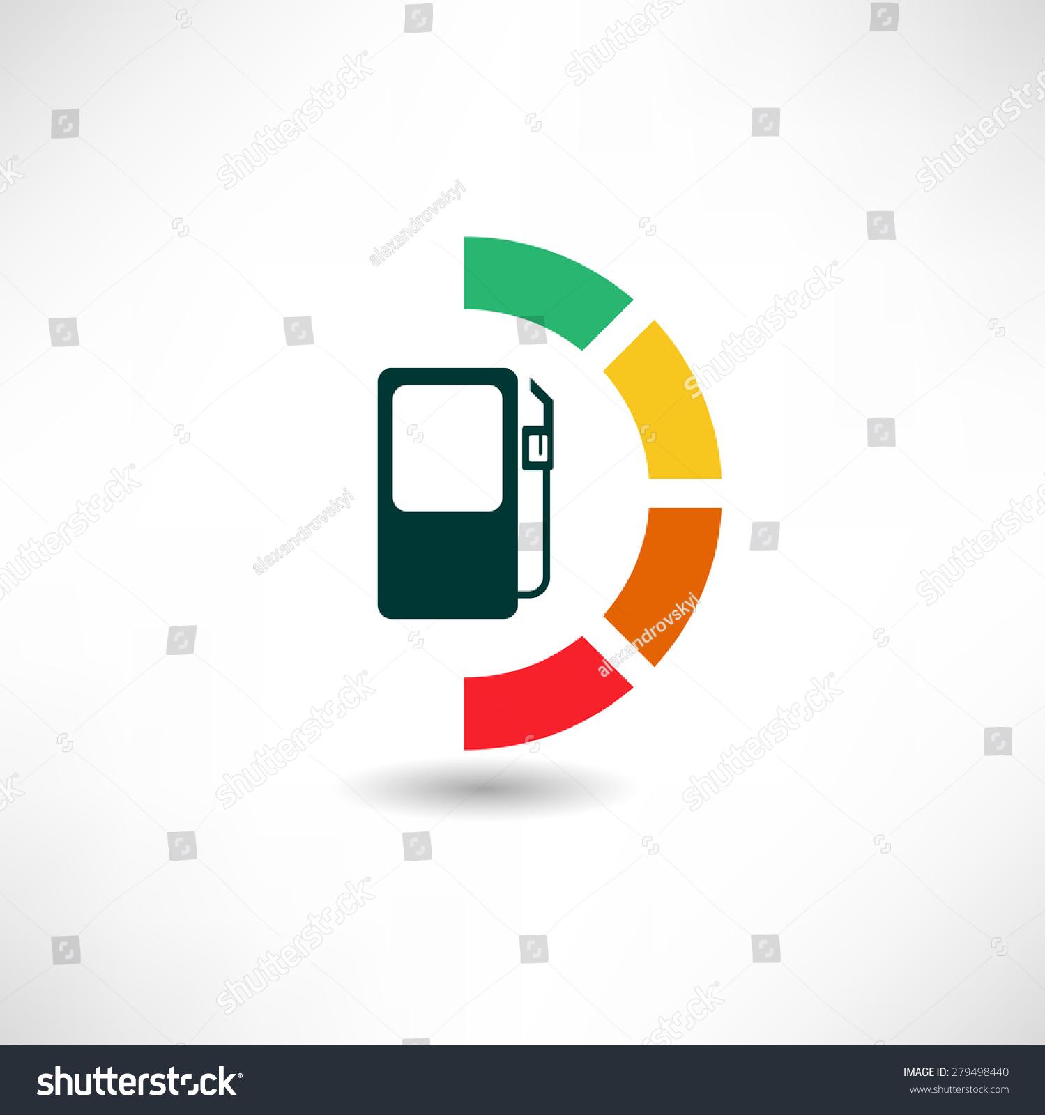 Fuel Level Sensor Icon Stock Vector 279498440 - Shutterstock