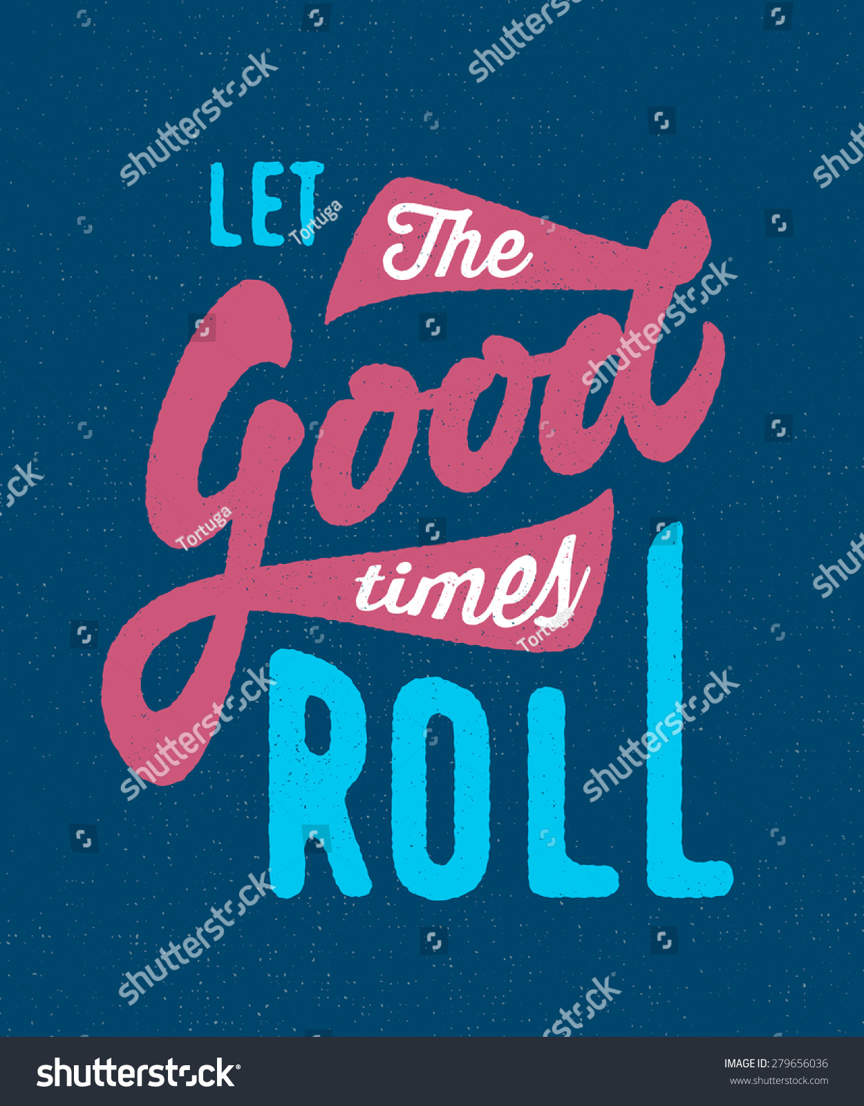 let the good times roll vintage retro old school funky t shirt apparel print poster graphics. Black Bedroom Furniture Sets. Home Design Ideas