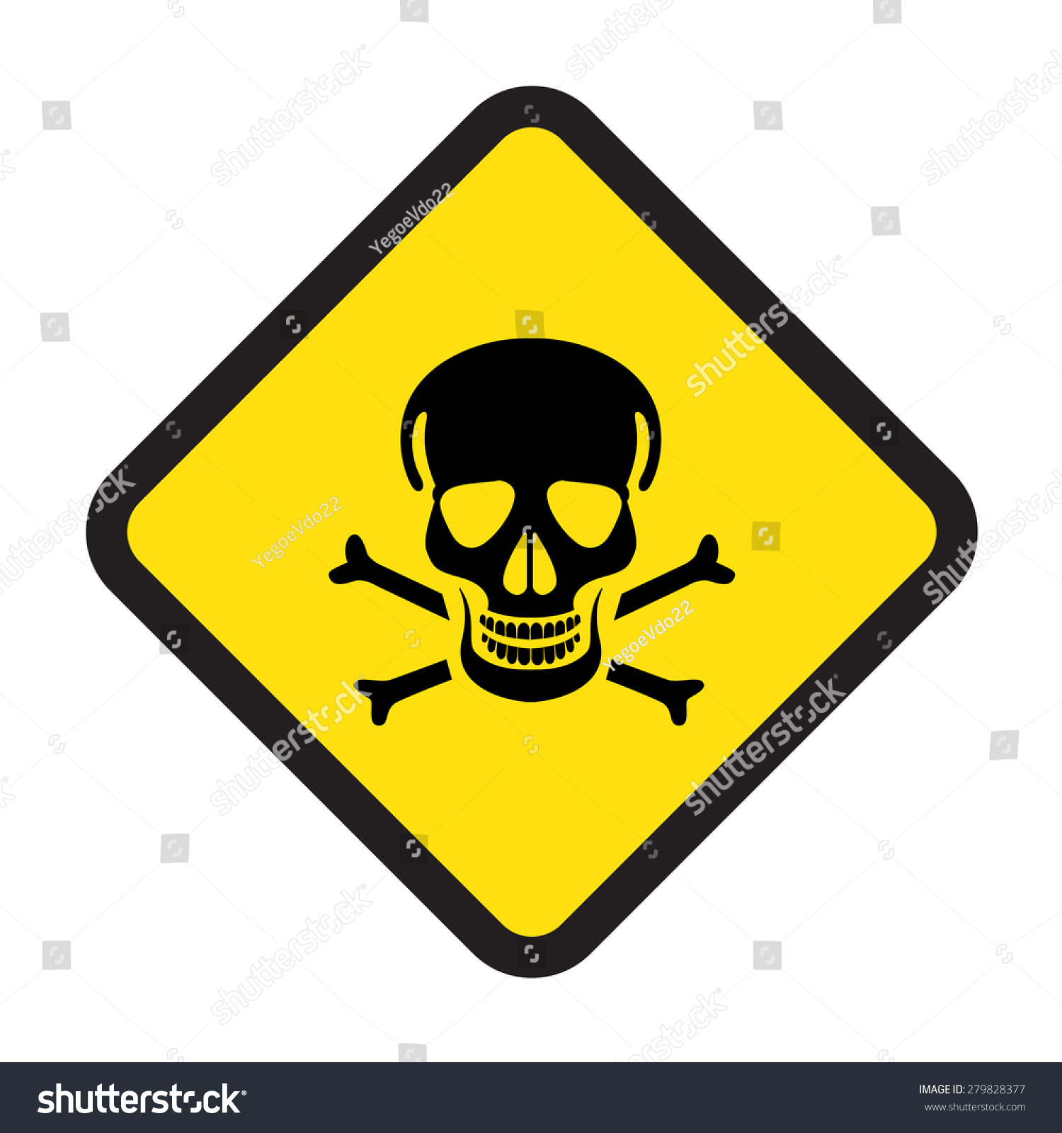 High power poison danger signs vector stock vector 279828377 high power or poison danger signs vector icon biocorpaavc Image collections
