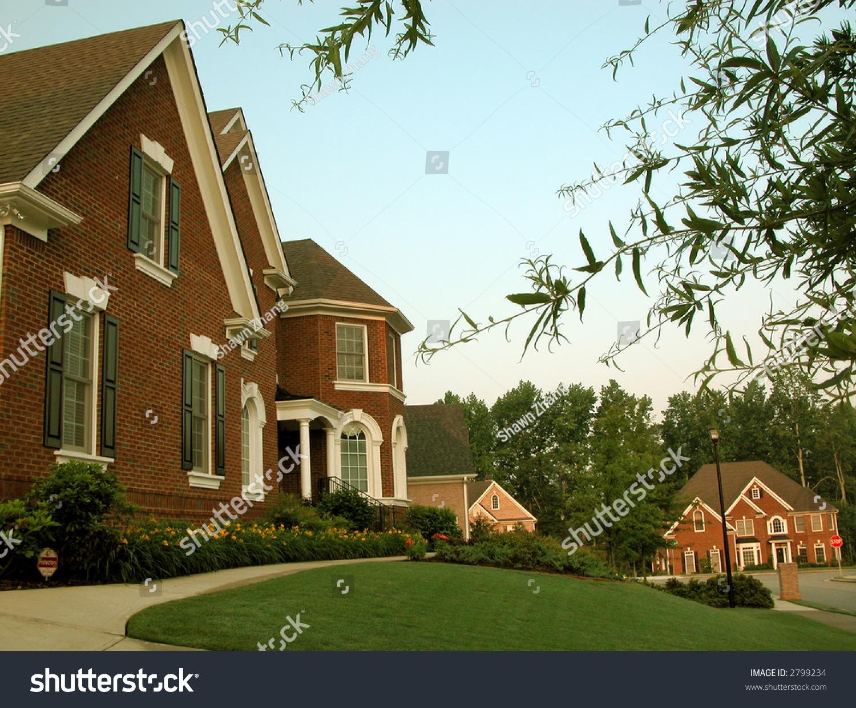Beautiful Brick House Exterior Stock Photo 2799234 Shutterstock