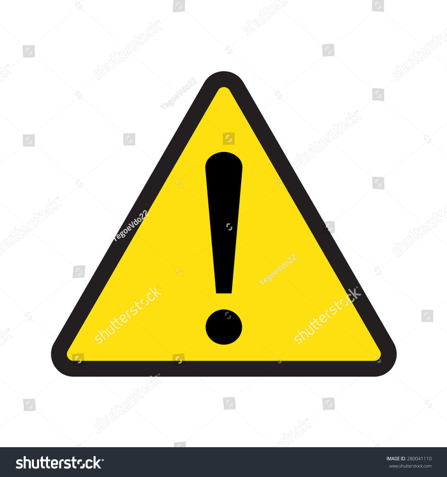 Caution Sign Vector Triangle Exclamation Mark Stock Vector ... | 1500 x 1600 jpeg 218kB
