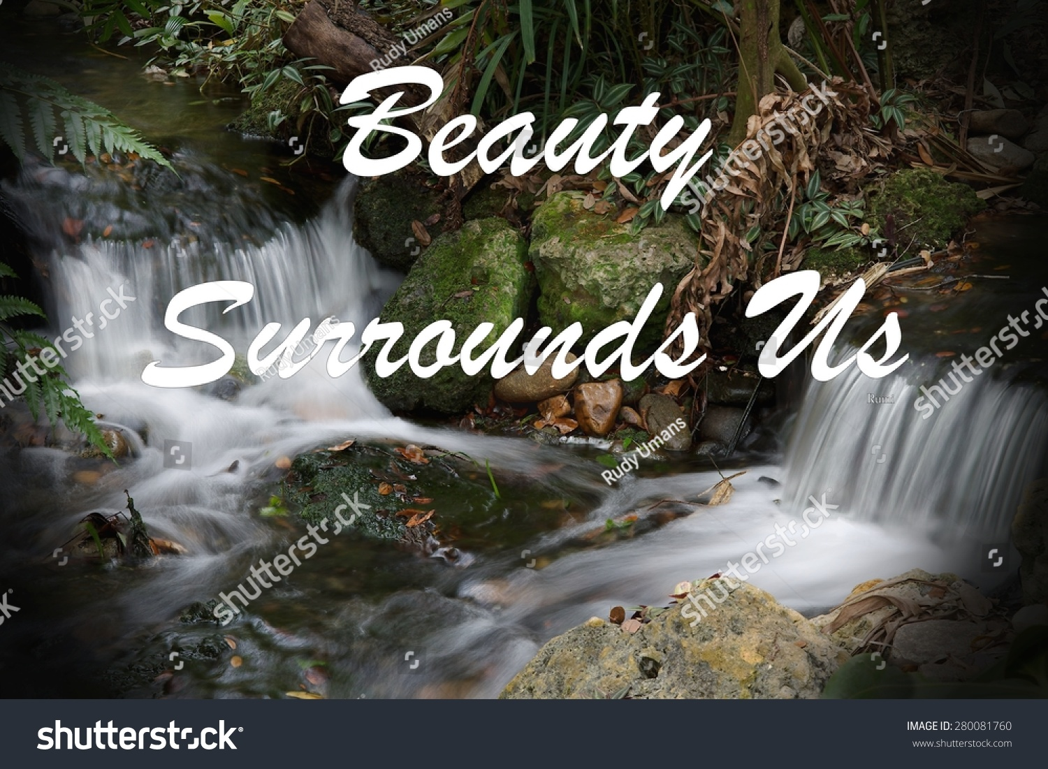 Inspirational Quote About Life Love Spirituality Stock Photo Edit