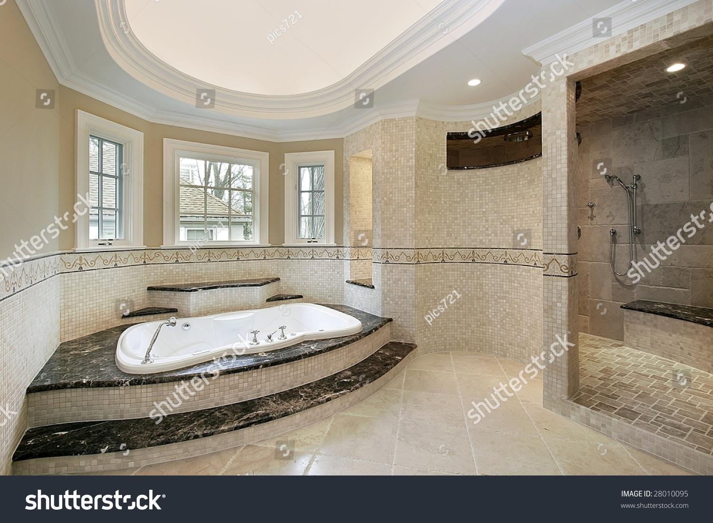 Master Bath Step Tub Stock Photo (Edit Now) 28010095 - Shutterstock