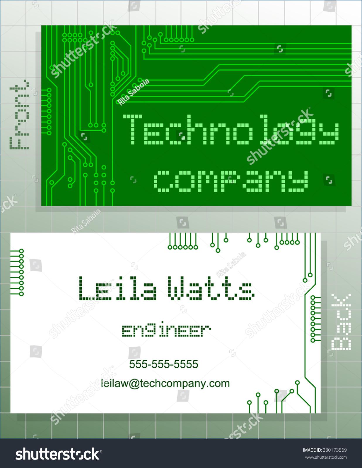 Great Business Green Card Images - Business Card Ideas - etadam.info