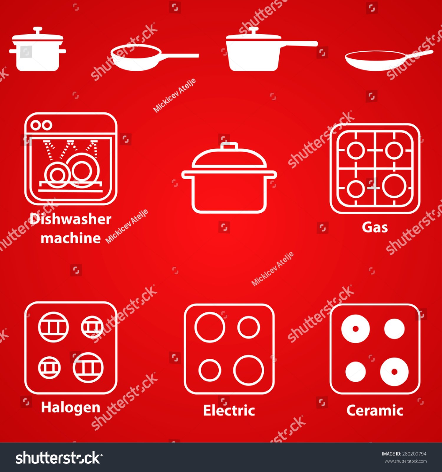 Symbols compatibility pots pans gaselectricceramic halogen stock symbols for compatibility of pots and pans with gaselectricceramic and halogen cooktop biocorpaavc