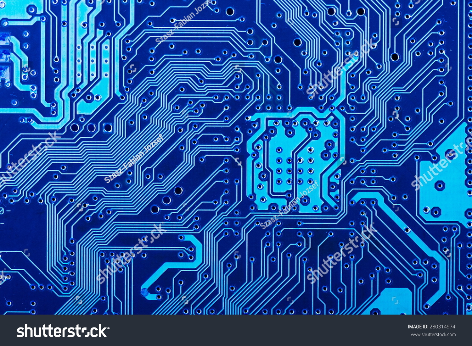 Royalty Free Solder Side Of Electronic Printed 280314974 Stock Circuit Board Photography Photo