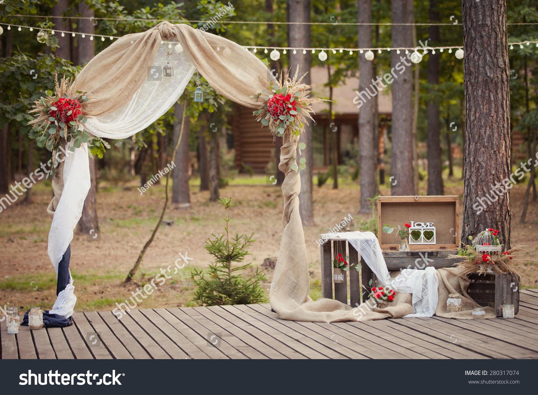 Wedding ceremony wedding decorations wedding archway wedding archway wedding ceremony wedding decorationswedding archwaywedding archway in rustic style junglespirit Choice Image