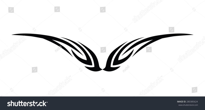 Tribal-Tattoos stock-vector-tribal-designs-tribal-tattoos-art-tribal-tattoo-280385624