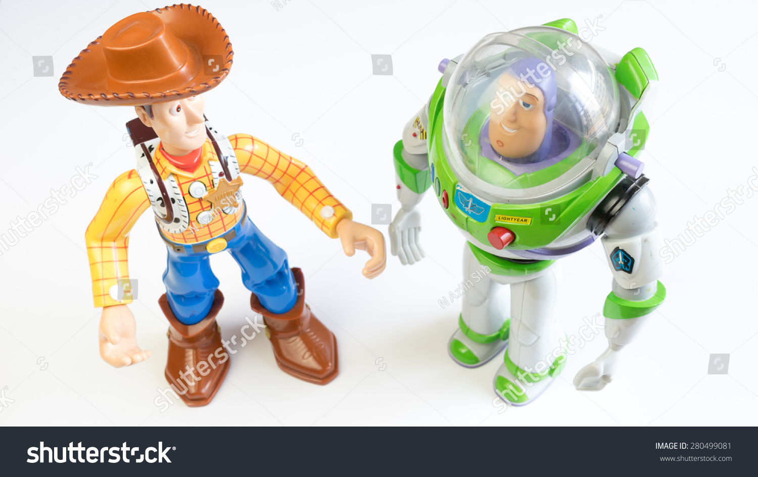 Woody and Buzz Lightyear robot toy character from Toy Story. Toy Story ...