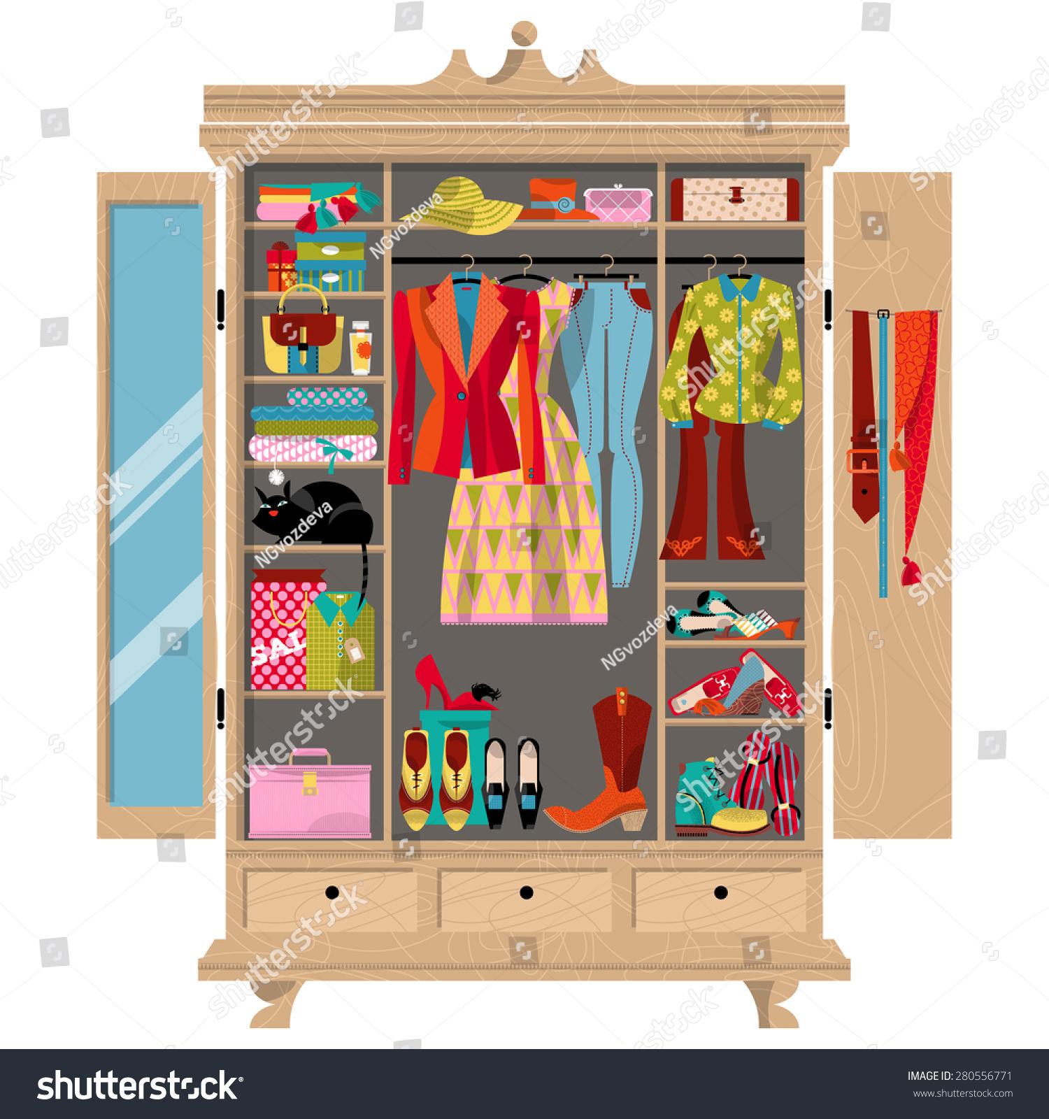 Clip art bedroom closet imgkid the image kid