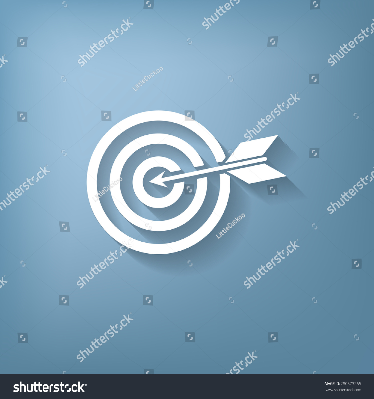 Target symbol sporty character hit target stock vector 280573265 target symbol sporty character hit the target buycottarizona Image collections