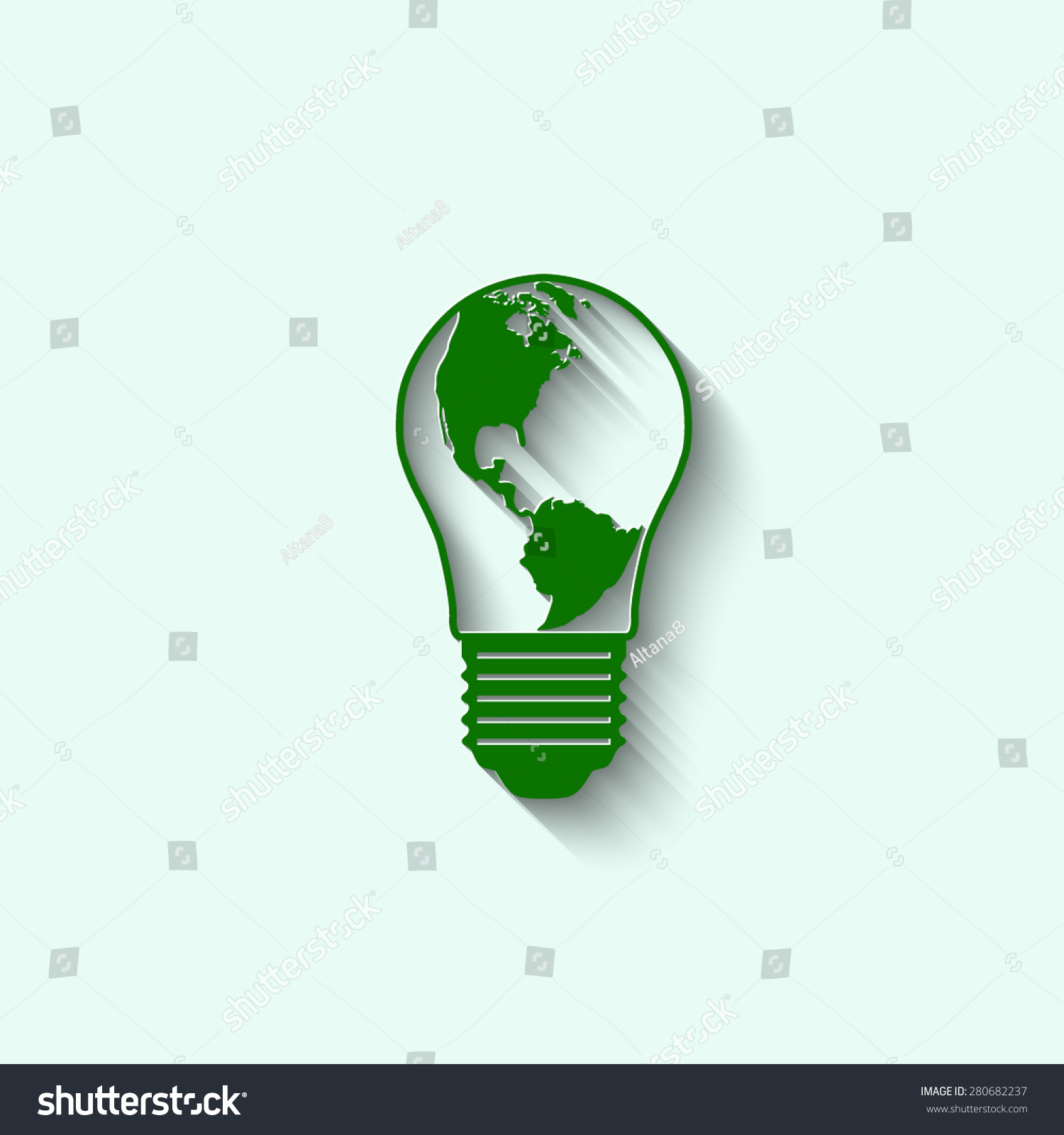 on tree symbolizing video growing shiny represent collection of green fitting light with plant motion energy fluorescent an background inside bulb a isolated jlgx to studio concept tubes v