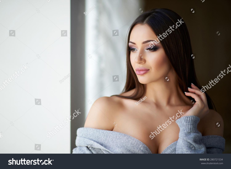 beautiful bare breasts in