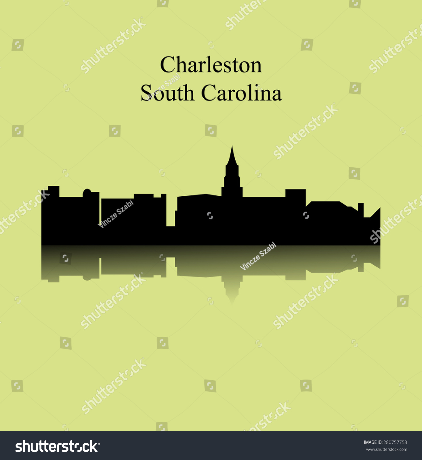 Charleston south carolina stock vector illustration for How do i get to charleston south carolina