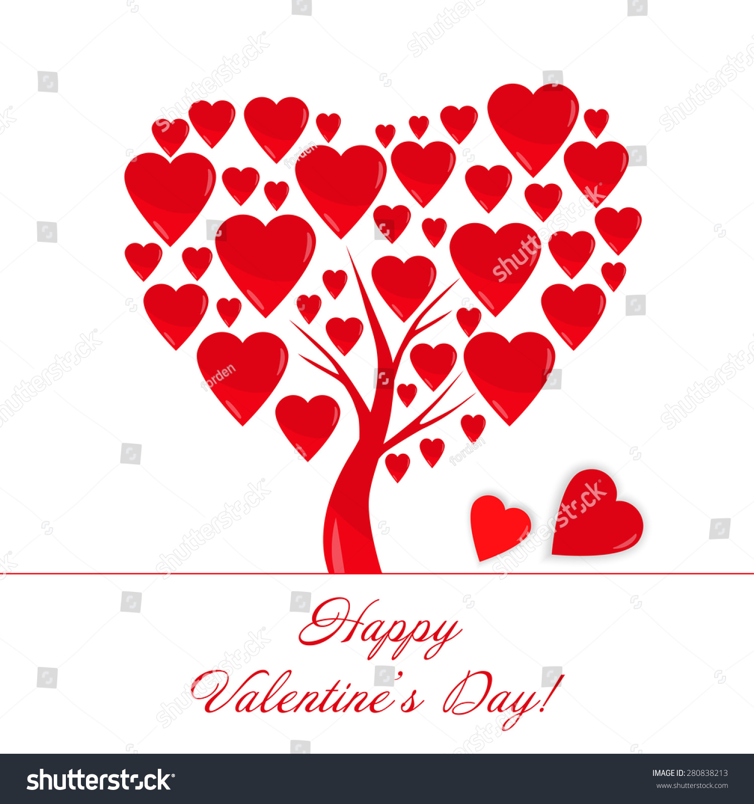 Greeting Card Words Happy Valentines Day Illustration – Valentine Card Words