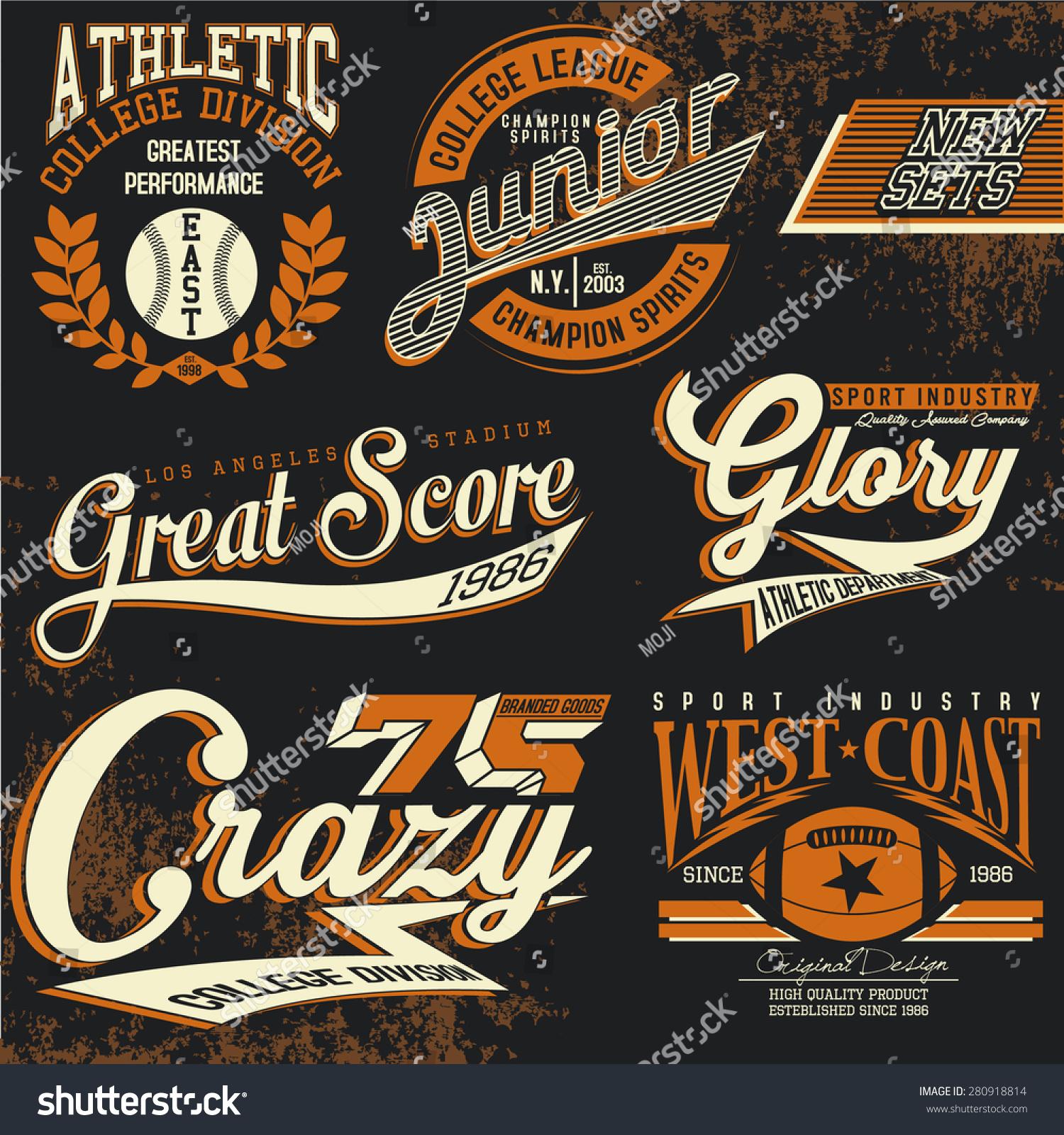 Logo chemise t vintage