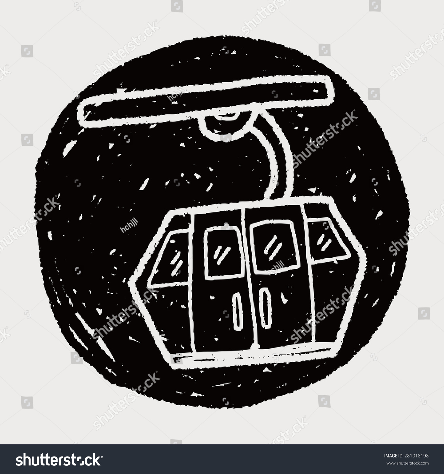 Cable Car Doodle Stock Illustration 281018198 - Shutterstock