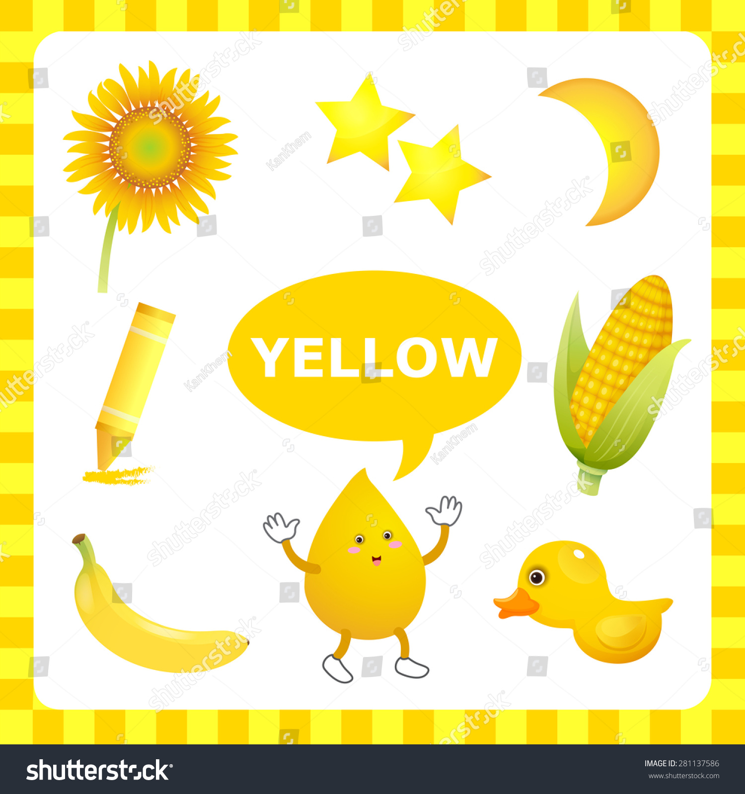 Color Yellow Clipart Free Image
