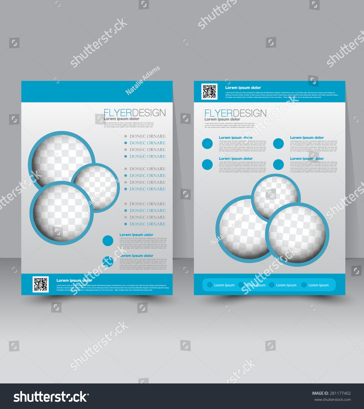 Flyer Template. Business Brochure. Editable A4 Poster For Design,  Education, Presentation,