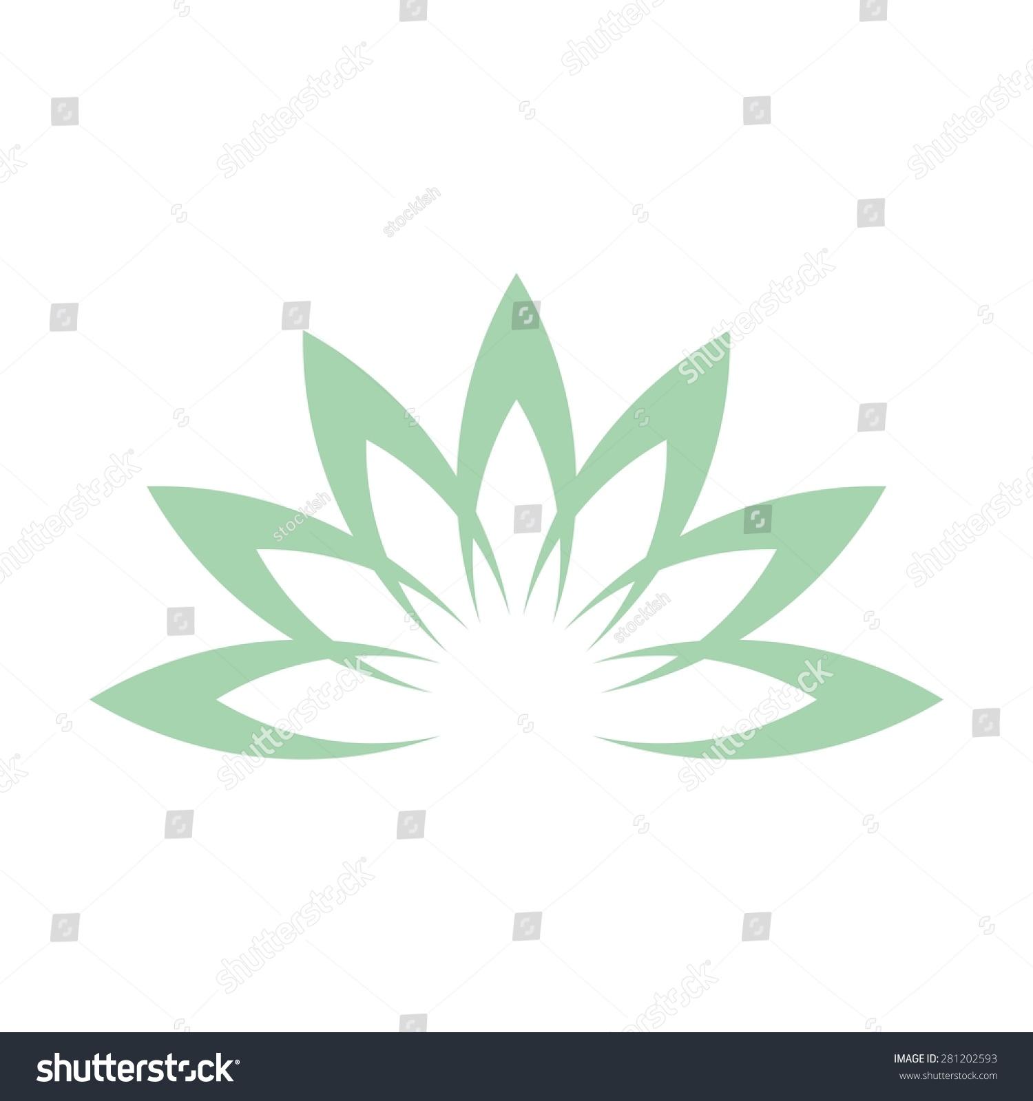 Lotus flower abstract vector logo design stock vector 2018 lotus flower abstract vector logo design template health spa creative idea asian culture mightylinksfo