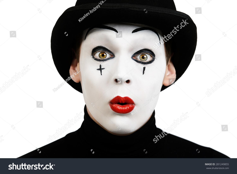 Happy Mime Makeup Male - Mugeek Vidalondon