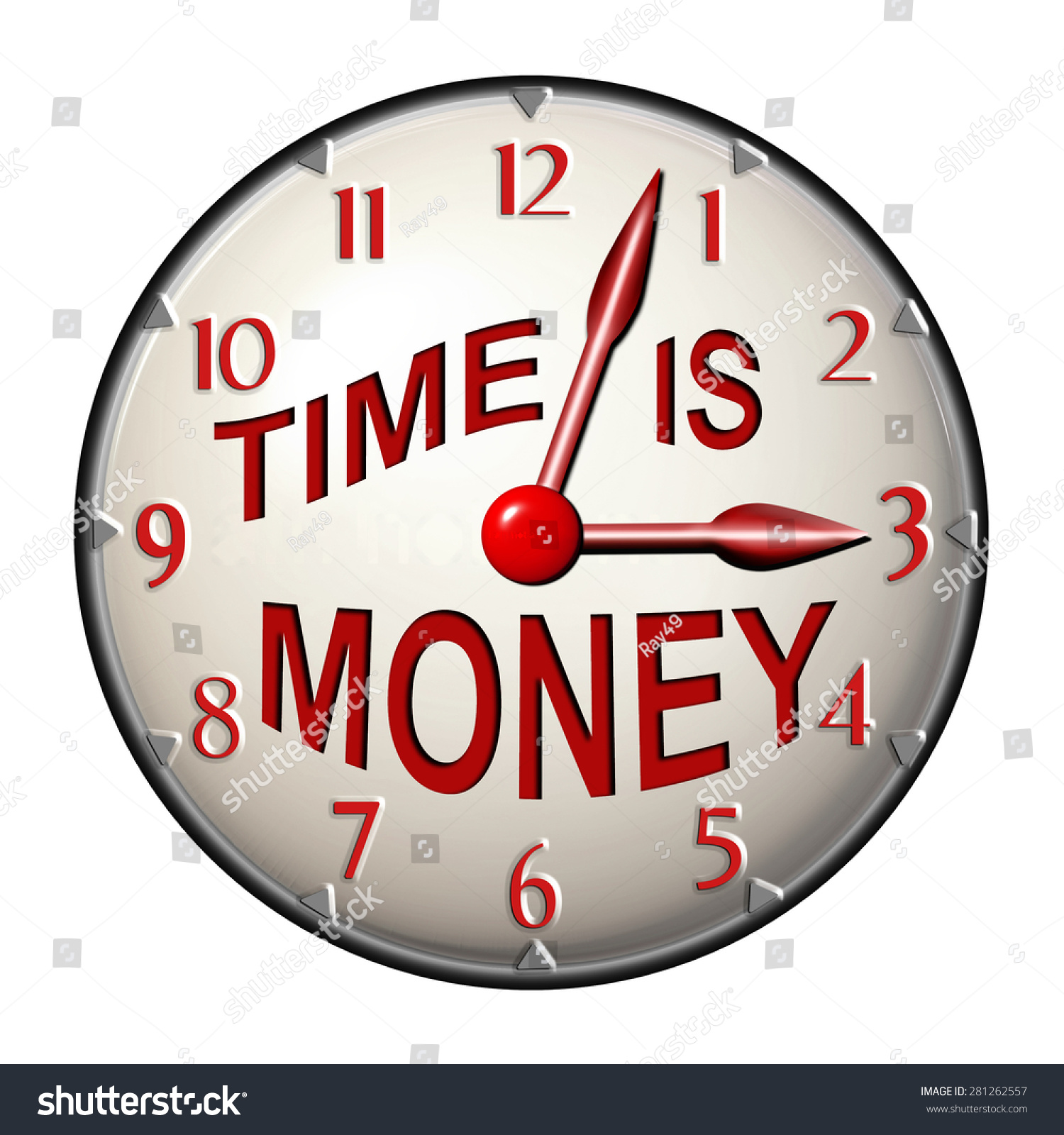 office clock wall. office wall clock face design text stock illustration 281262557 - shutterstock