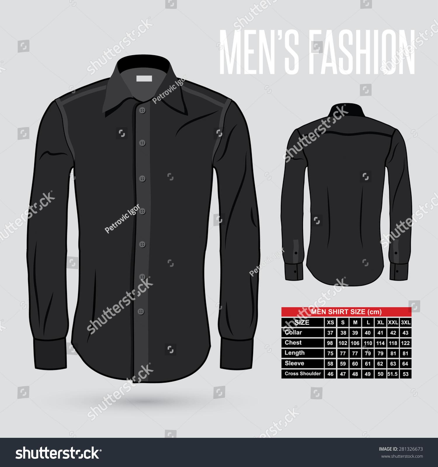 Mens Shirt Dress Sizes Rldm