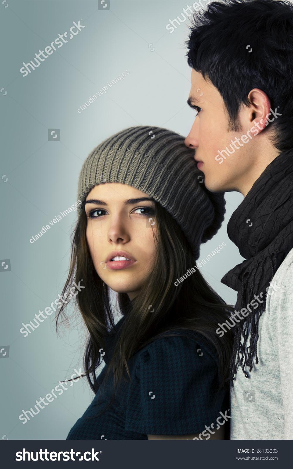 Best of Teen Models Kissing