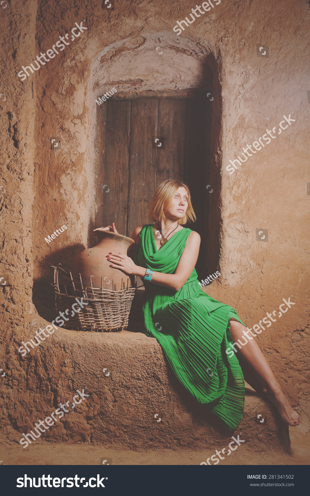 stock-photo-women-slave-posing-with-big-