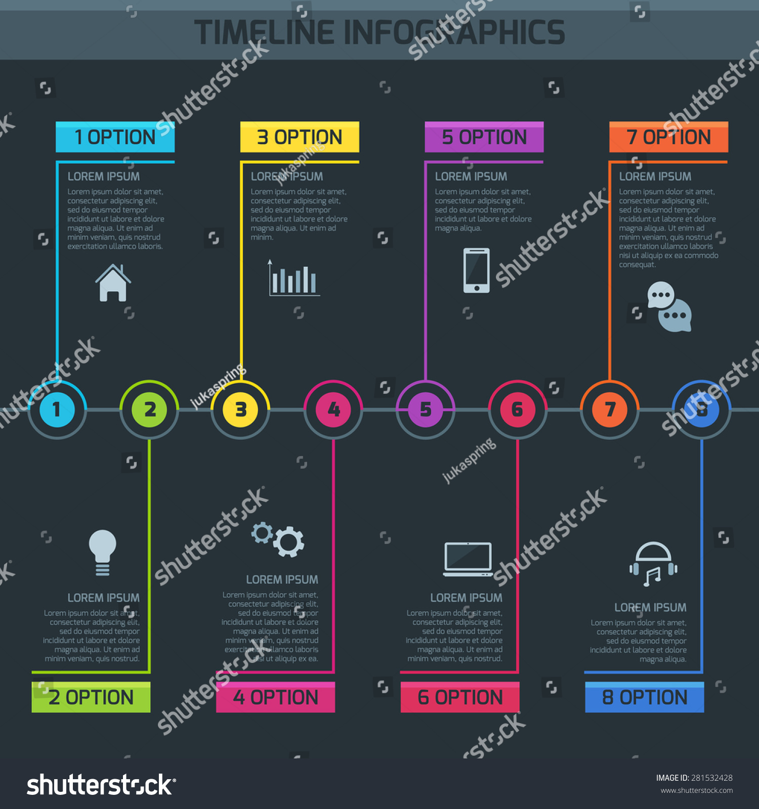 timeline infographic  vector cv  resume  business presentation  project workflow design template