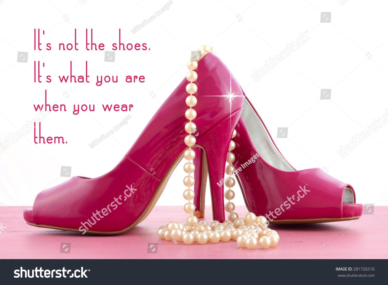 High Heel Shoe Cute Inspiration Funny Stock Photo Edit Now 281726516