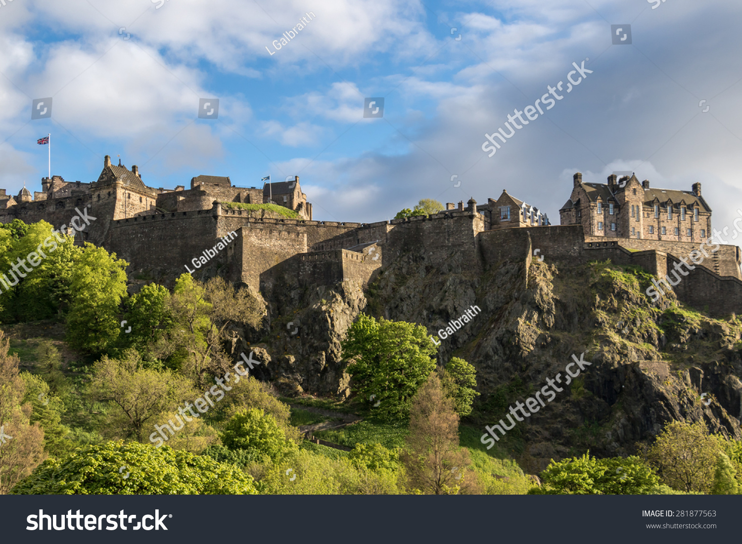 stock edinburgh castle - photo #37