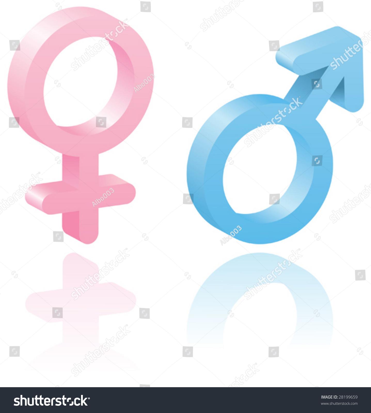 3d male female symbols vector illustration stock vector 28199659 3d male and female symbols vector illustration set elements for you design isolated buycottarizona