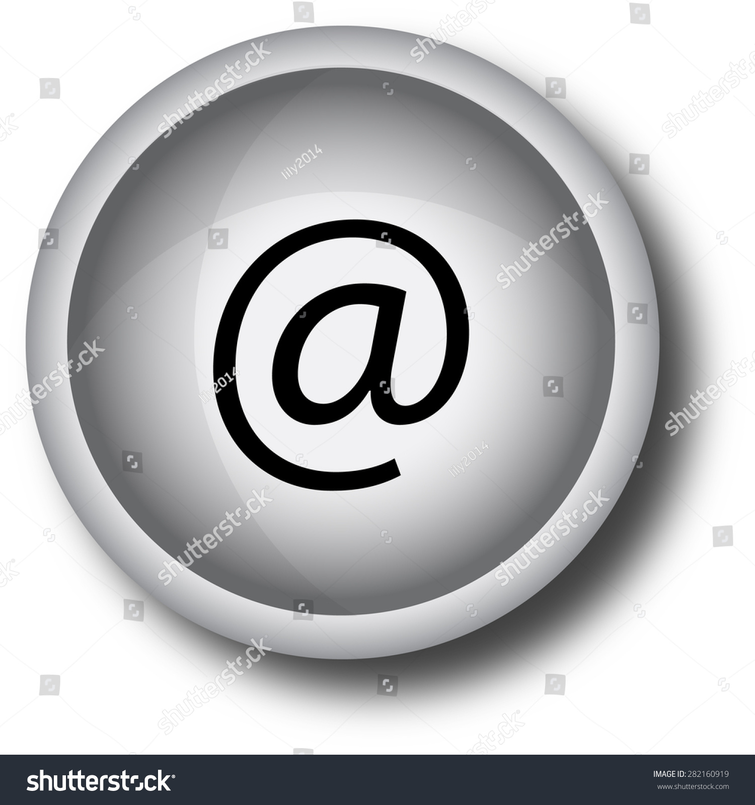 Email internet icon button stock illustration 282160919 shutterstock e mail internet icon button biocorpaavc