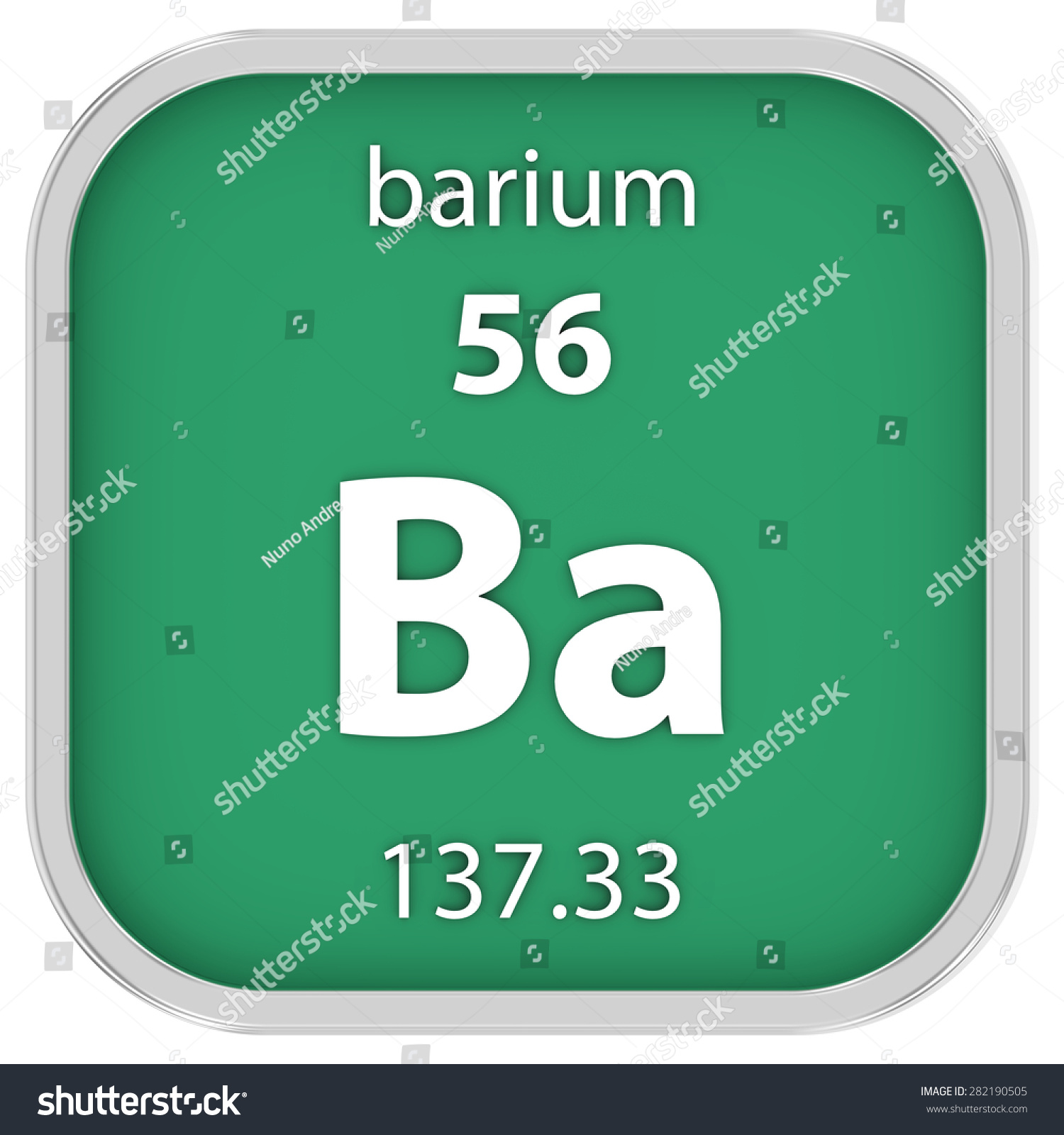 Barium on the periodic table image collections periodic table images barium periodic table square aviongoldcorp barium material on periodic table part stock ilration gamestrikefo image collections gamestrikefo Gallery