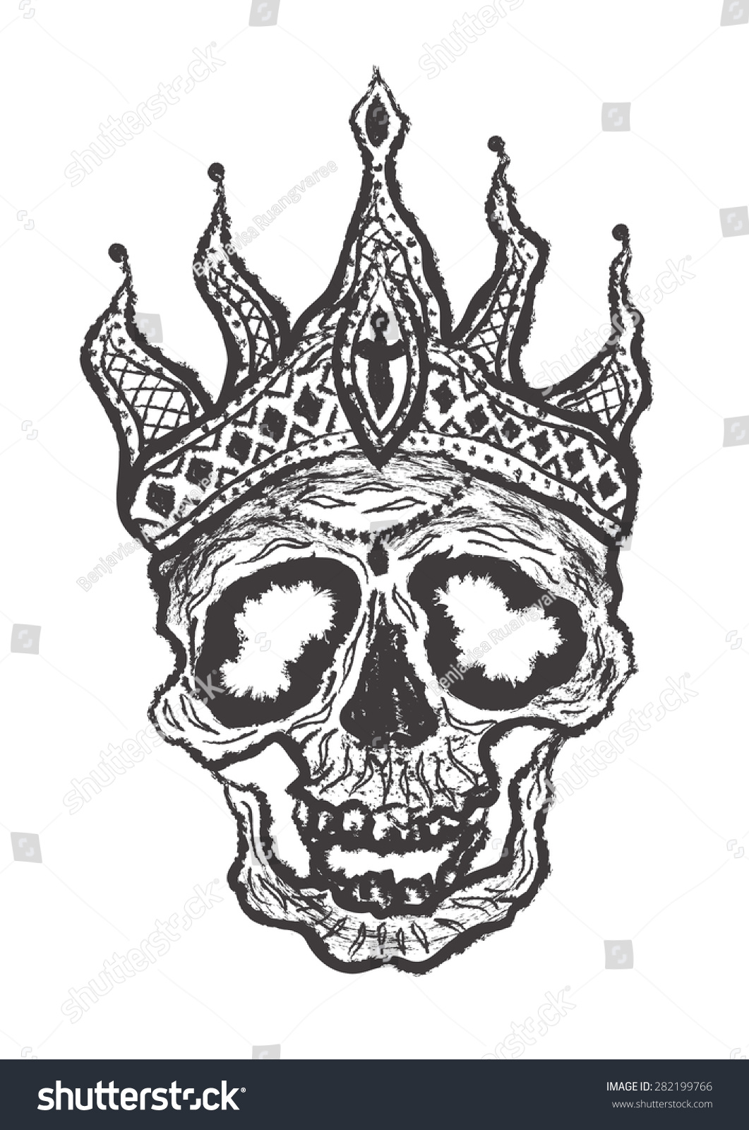 Evil crown drawing - photo#9