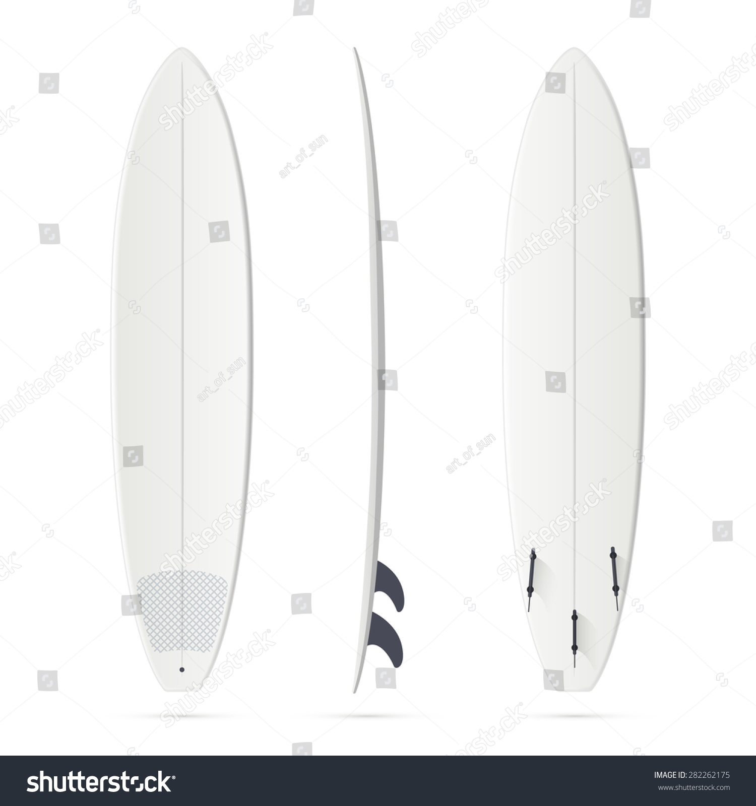 white vector surfing board template minimalibu stock vector royalty