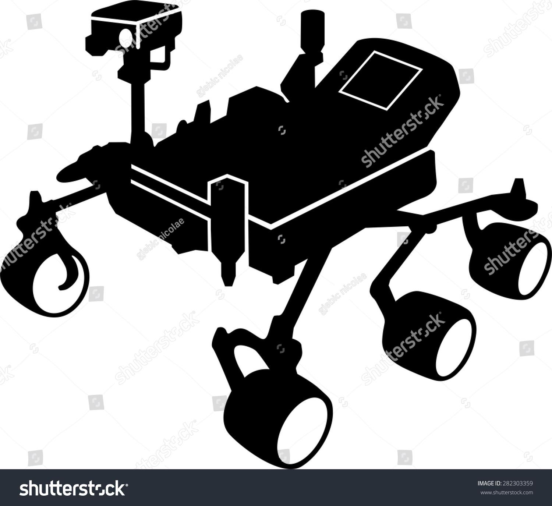 curiosity mars rover clip art - photo #5