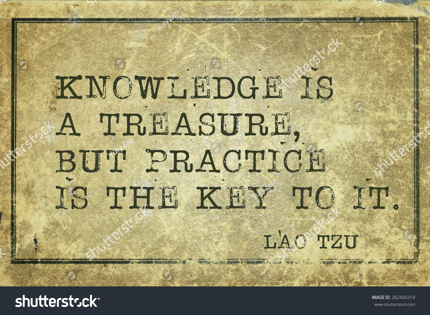 Knowledge Is A Treasure, But Practice Is The Key To It ...