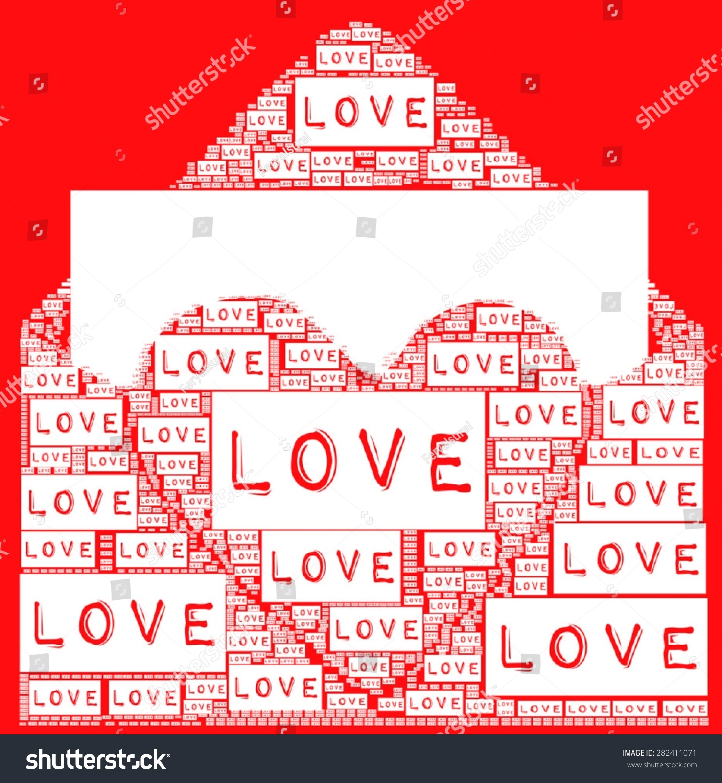 Shirt design envelope - Red Background With Love Letters And Love Heart Illustration Become Envelope Design Vector Print Pattern
