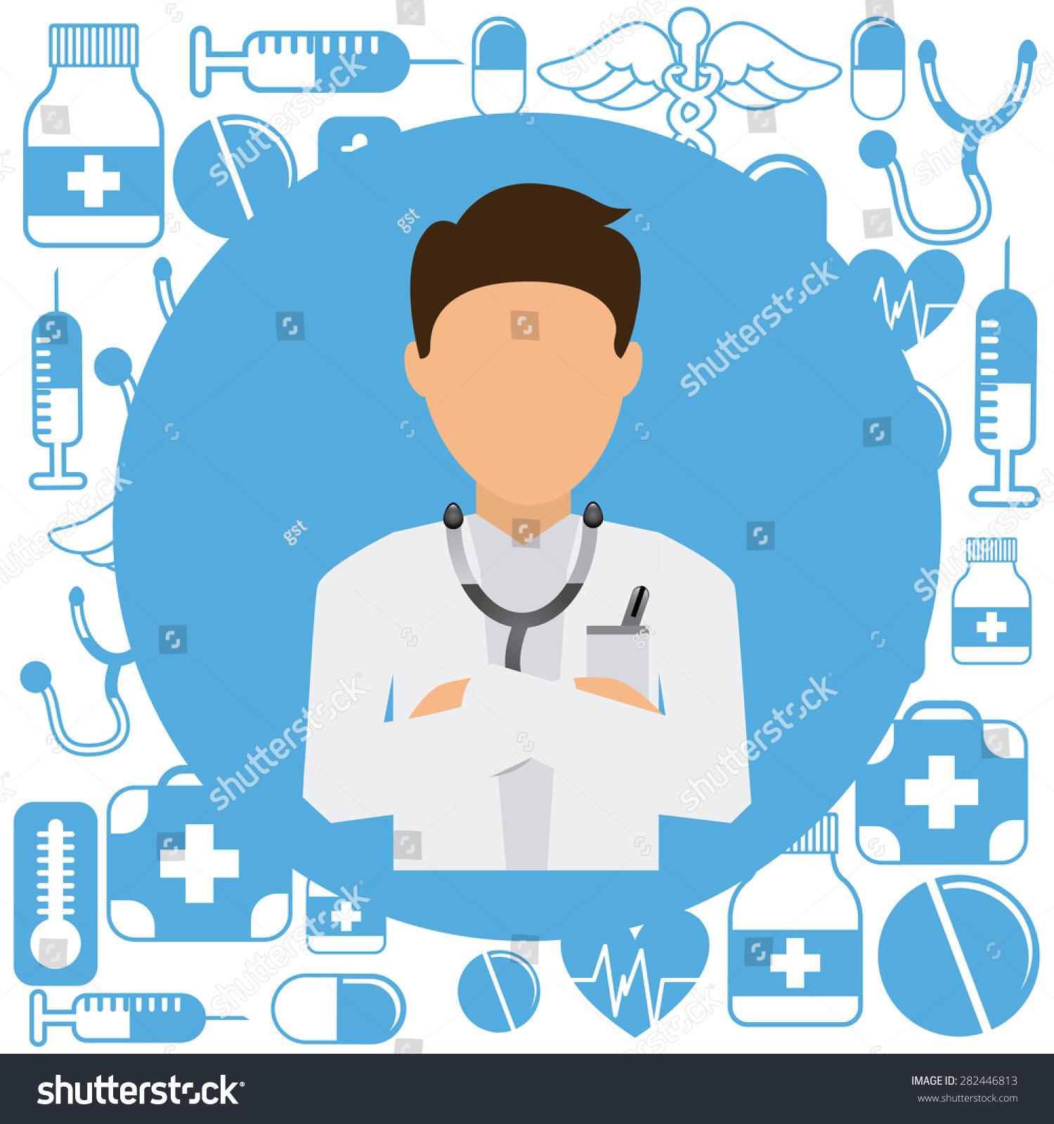 Poster design medical - Medical Poster Design Vector Illustration Eps10 Graphic
