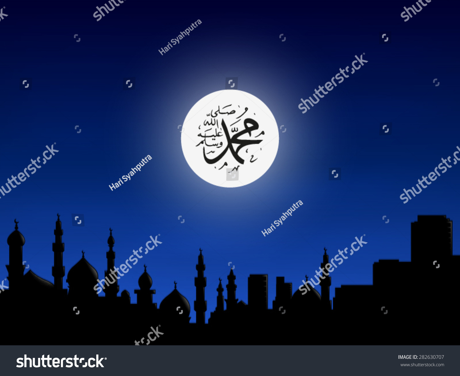 Simple Wallpaper Night God - stock-vector-islamic-wallpaper-abstract-background-template-theme-night-blue-god-mosque-residence-282630707  Graphic-24970.jpg