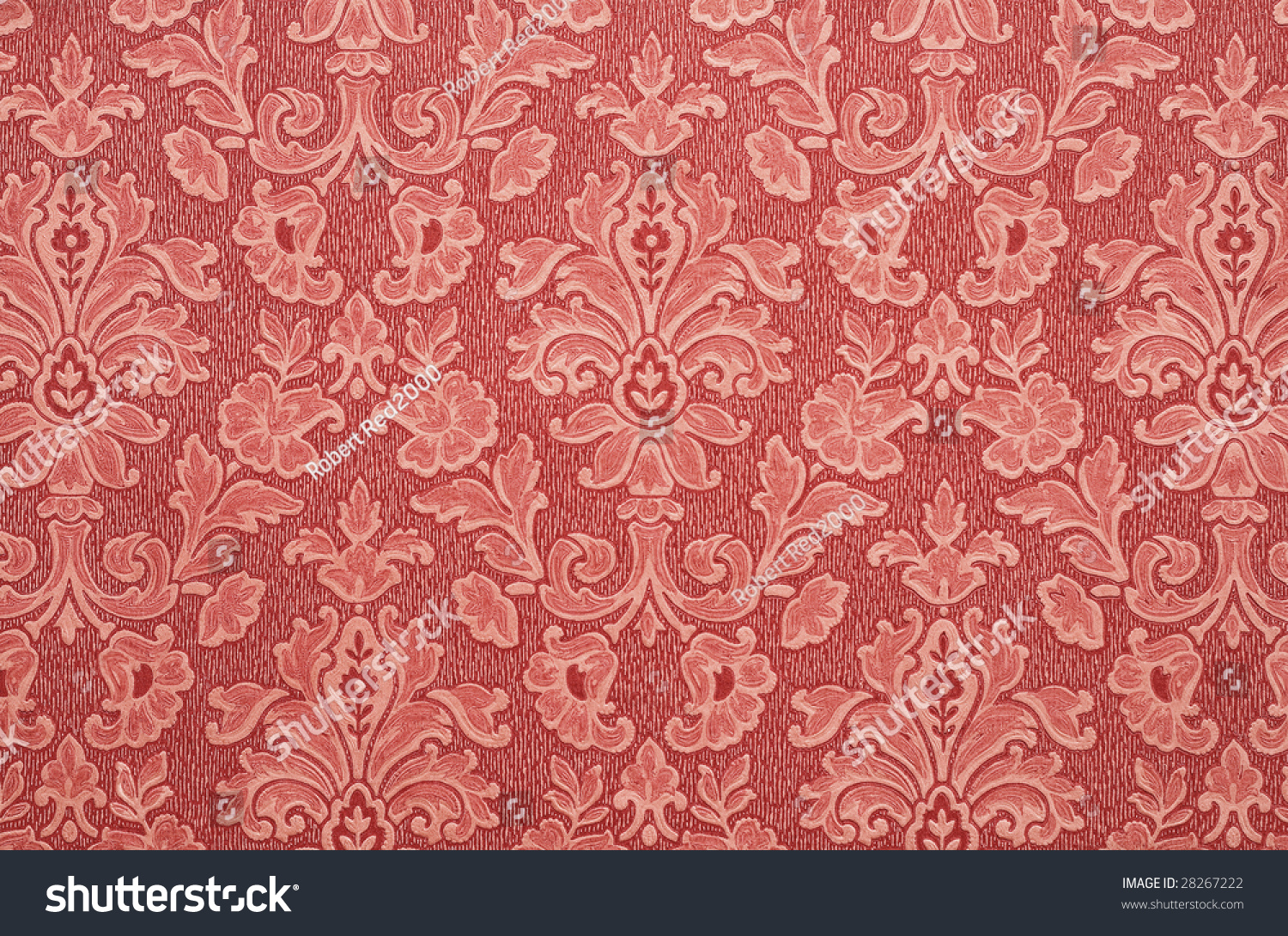 Simple Floral Tapestry
