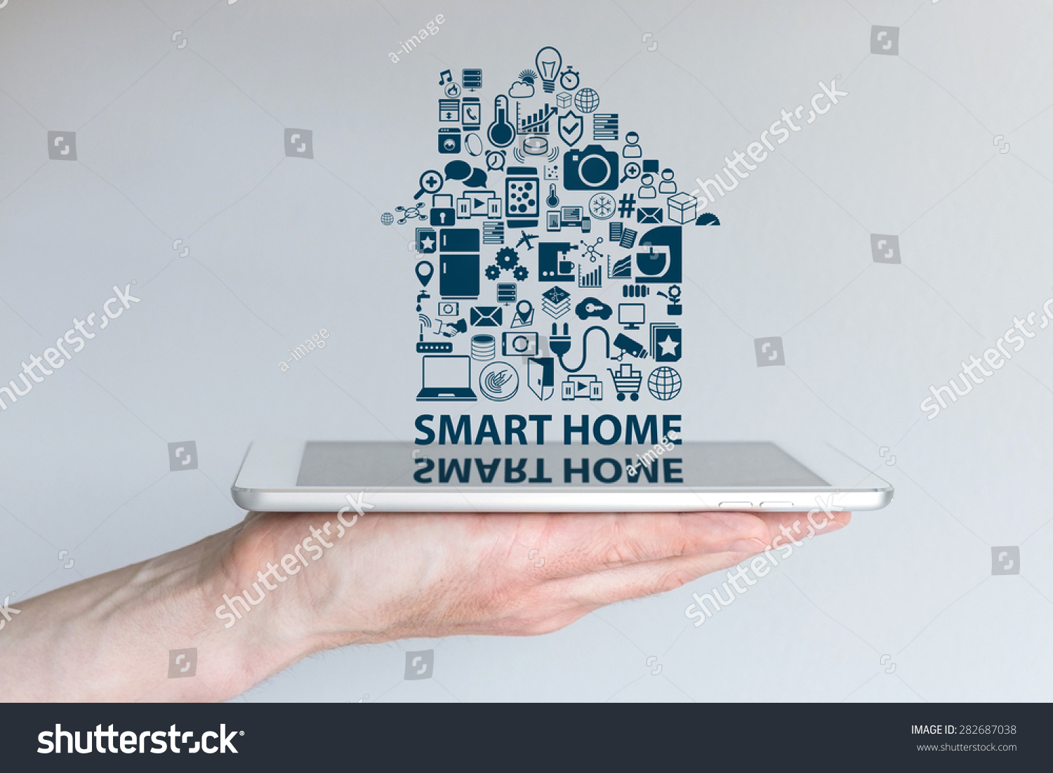 Royalty-free Smart home automation concept.… #282687038 Stock Photo ...